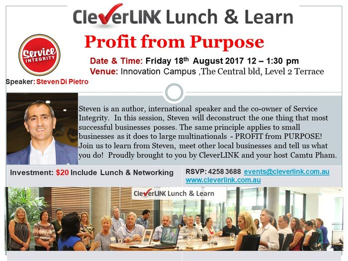 CleverLINKLunchLearn18Aug2017web