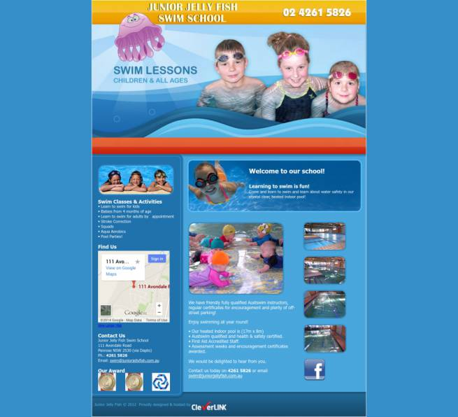 Junior Jelly Fish Swim School