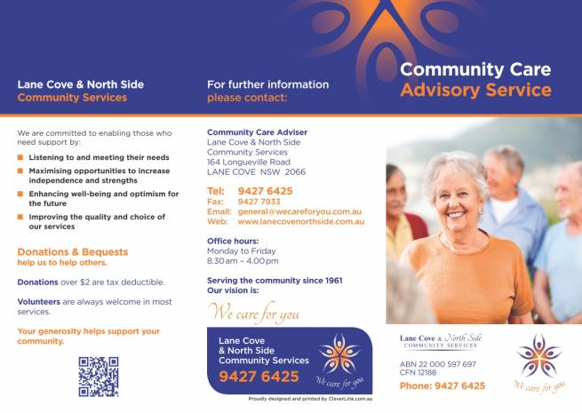 Lane Cove & North Side Community Services